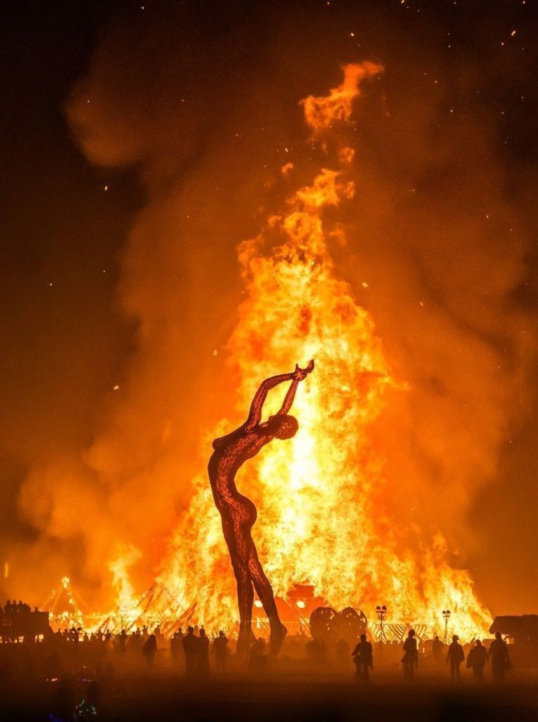 burning man festival dernier soir