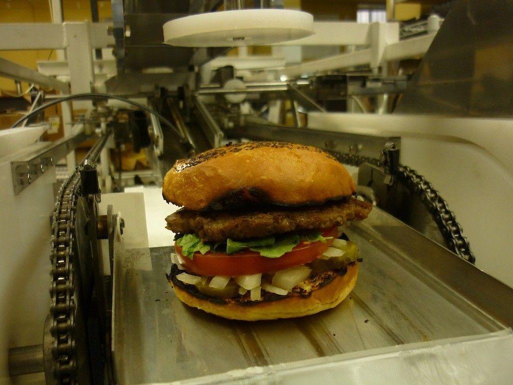 momentum machines robot burger