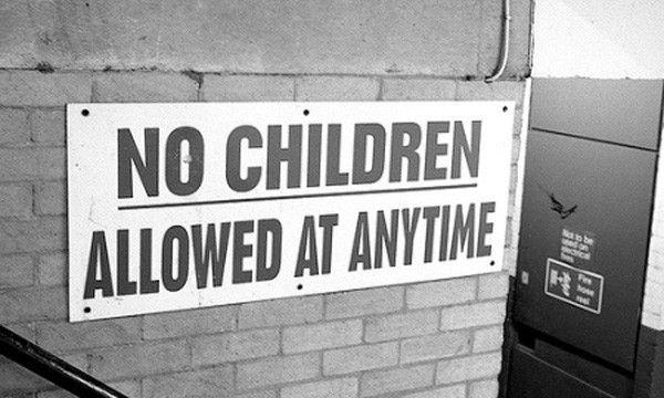 pas d'enfants