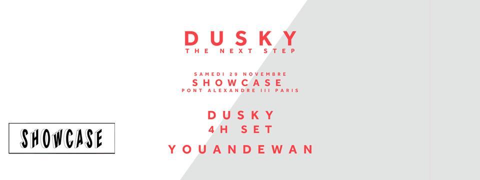 dusky mark broom showcase