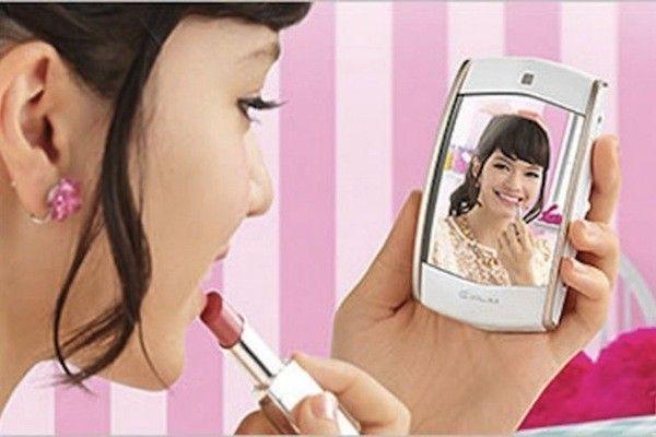 miroir selfie casio