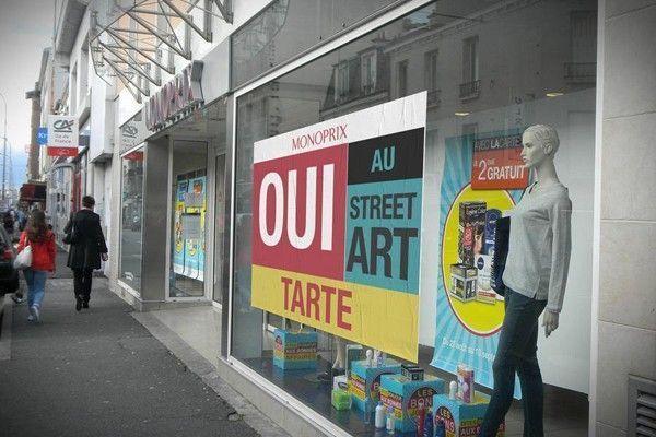 monoprix street art
