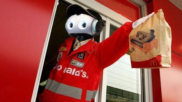 robot mc donalds