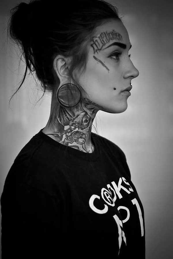 tatouée