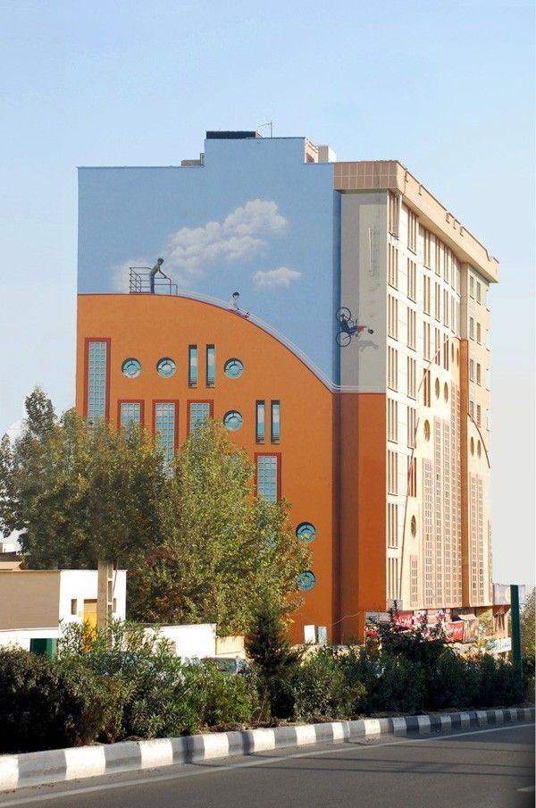 immeuble iran