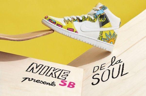 Nike et De la Soul