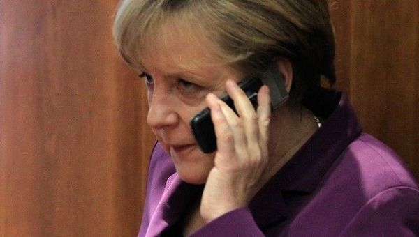 Angela Merkel Allo