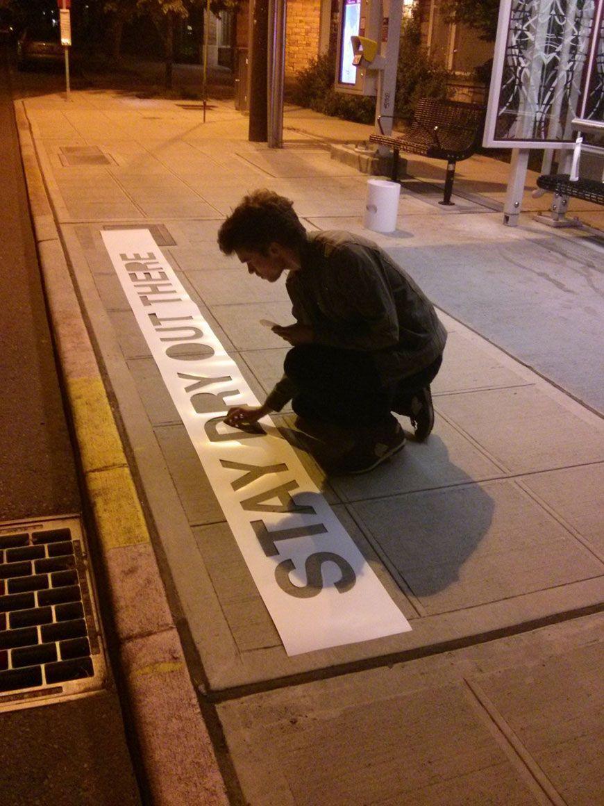 pluie street art 8