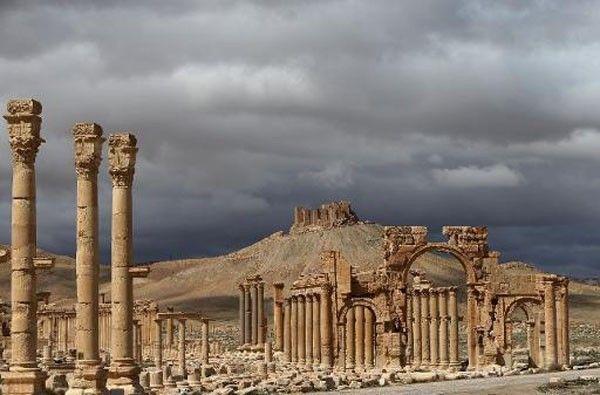palmyre cité syrie