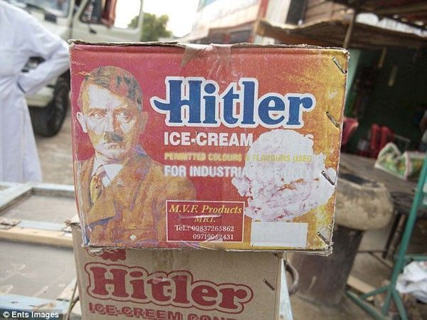 hitler ice cream
