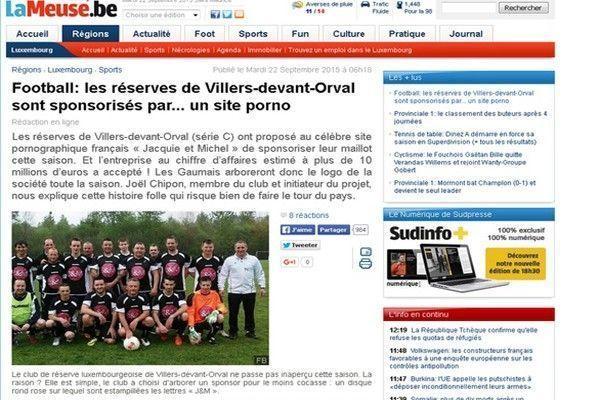 villers-devant-orval sponsorisé par Jacquie et Michel