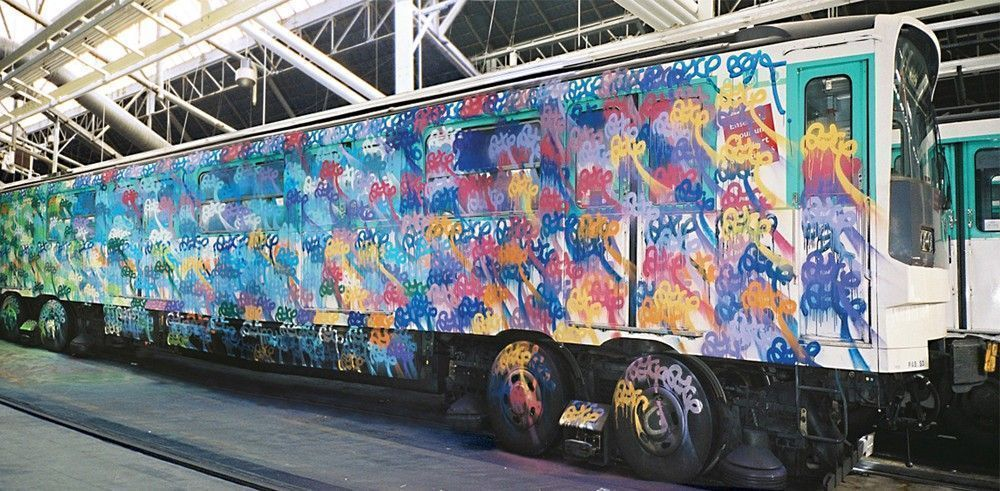 graff métro