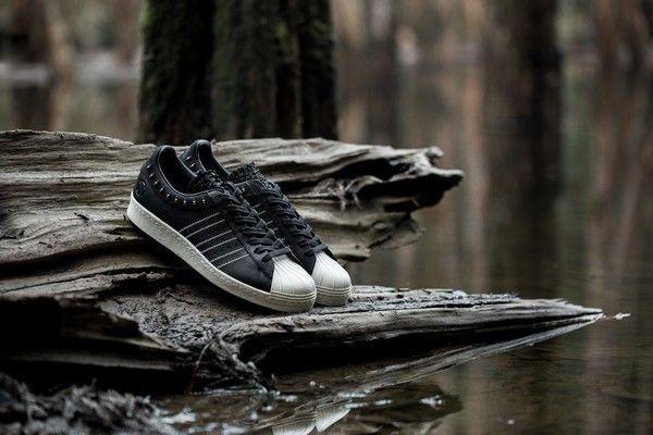 invincible-x-adidas-consortium-superstar black