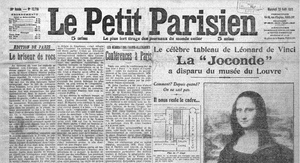 joconde volée une petit parisien