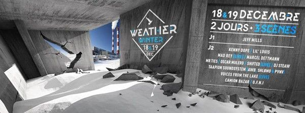 weather winter line up