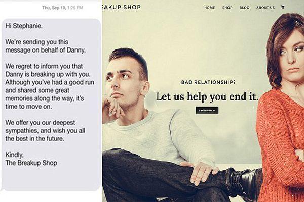 breakup shop