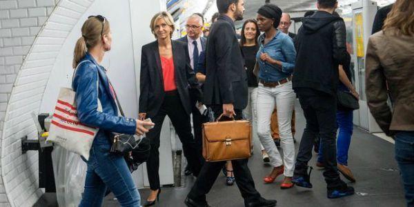 Valérie Pécresse-metro