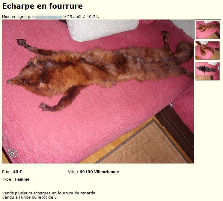 Echarpe-en-fourrure-Vêtements-Rhône-leboncoin.fr_