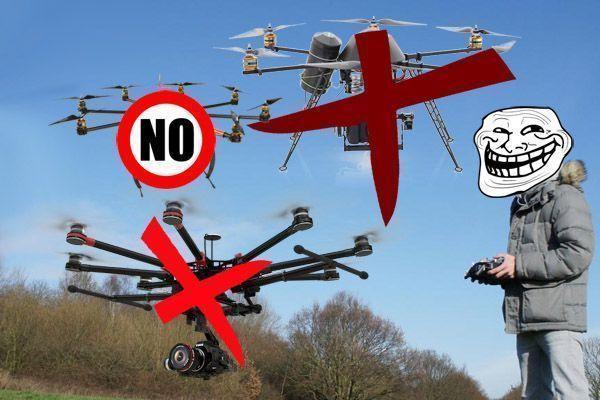 interdictions pour drone