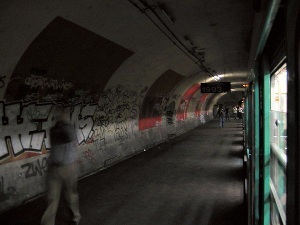 Haxo stations de métro fantômes