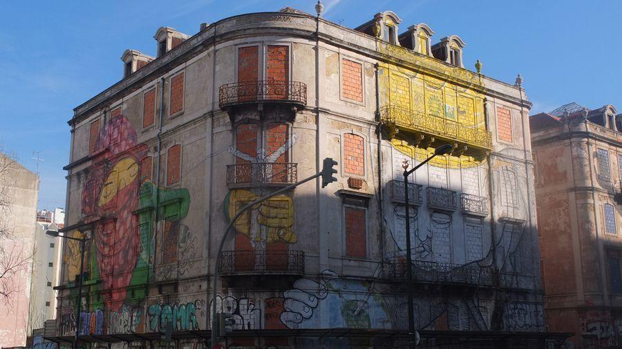 street art lisbonne