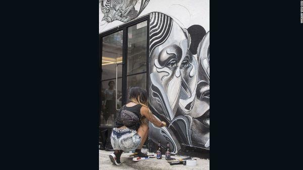 street art pollution
