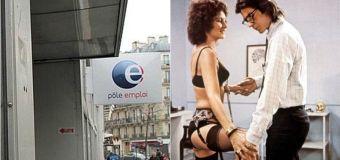 Pôle emploi recherche couple «taquin et jovial» pour porno «fantaisiste»