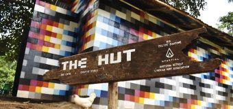 Felipe Pantone dévoile une maison du street-art et du surf au Liberia