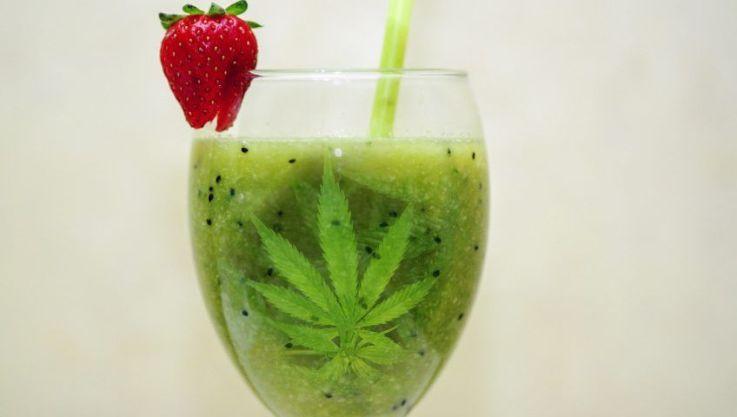 smoothie cannabis
