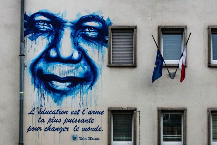 Mandela Street Art