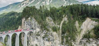 Le Glacier Express, la traversée en train la plus sublime qui soit en Suisse