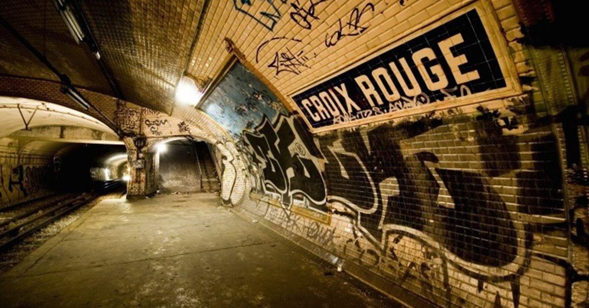 Une station de métro fantôme se transforme en lieu de vie