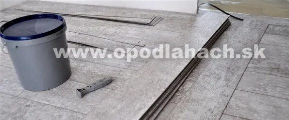 Montáž vinylovej podlahy
