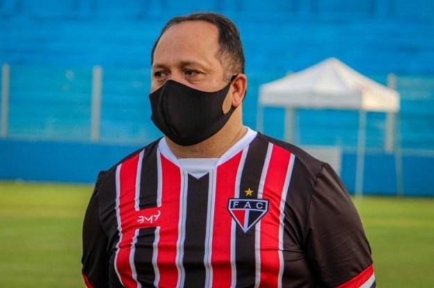 Newton Filho, presidente do Ferroviário (Foto: Lenilson Santos / Ferroviário Atlético Clube)
