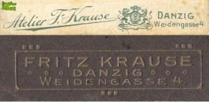 Dwa logo Fritza Krausego