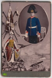 Portret żołnierza z Weidengasse 4