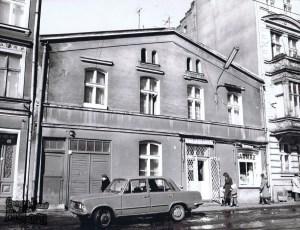 Ulica Łąkowa 13 w 1979 r.