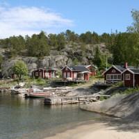 Lerviken: 'Bolderburen' in Noord-Zweden