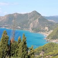 Van Sinarades naar Pelekas: bergwandelen op Corfu