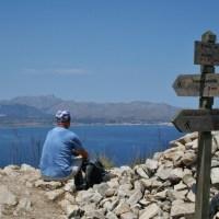 Het schiereiland van Alcudia