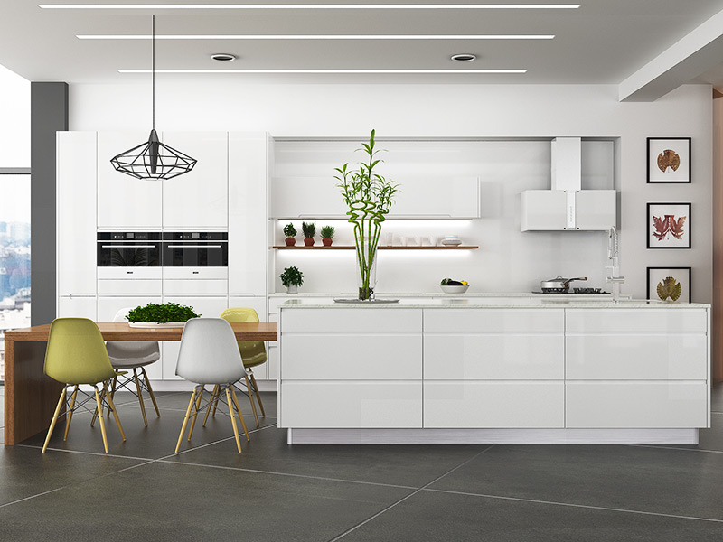 White Kitchen Modern Design