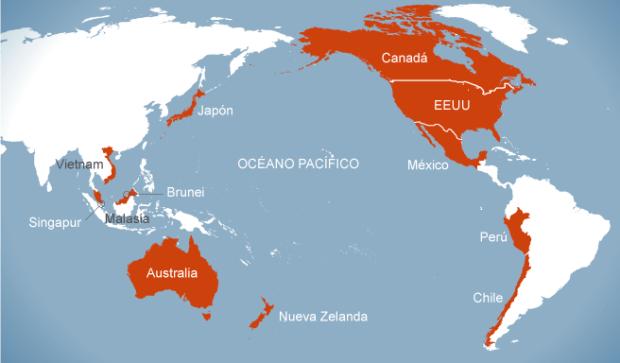 TPP mapa