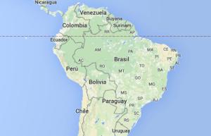 Mapa: Google, DigitalGlobe. El nivel de apertura actual entre las dos mayores economías de América Latina es limitado.
