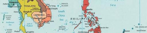 Las islas Paracelso y las islas Spratly son motivo de una disputa territorial entre las zonas costeras de China, Taiwán, Filipinas, Malasia, Brunéi, Indonesia y Vietnam.