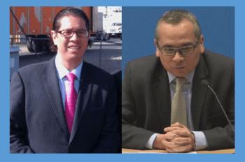 Fotos: Casa Blanca y UNAM. Baker, a la izquierda, y Zapata, los nuevos nombramientos.