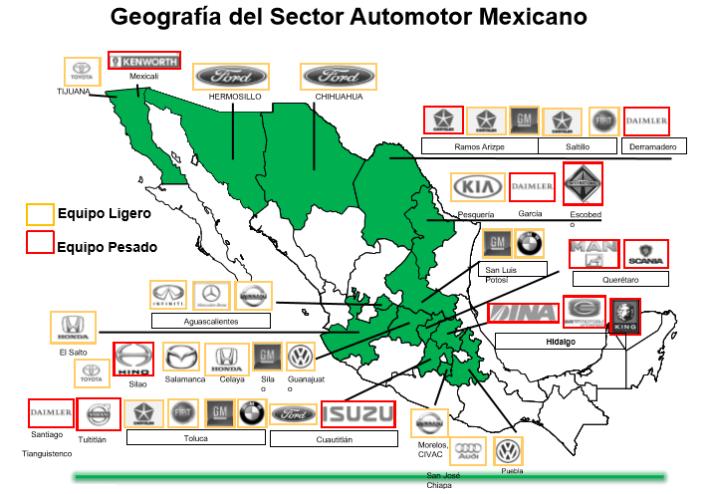 Gráfico: INA. De acuerdo con datos del gobierno federal, estas plantas en su conjunto generarán, una vez que entren en funcionamiento todas, 60,000 empleos en el país.