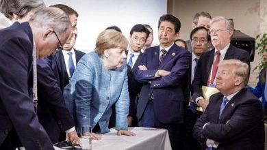 Photo of La foto que promovió Merkel desafiando a Trump