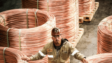 En 2017, la producción de cátodos de cobre a nivel mundial alcanzó 3.7 millones de toneladas.