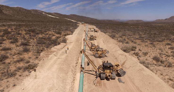 El gobierno de Estados Unidos se interesa en financiar un gasoducto de México.