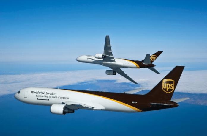 UPS entregó un promedio de 20.7 millones de piezas por día.
